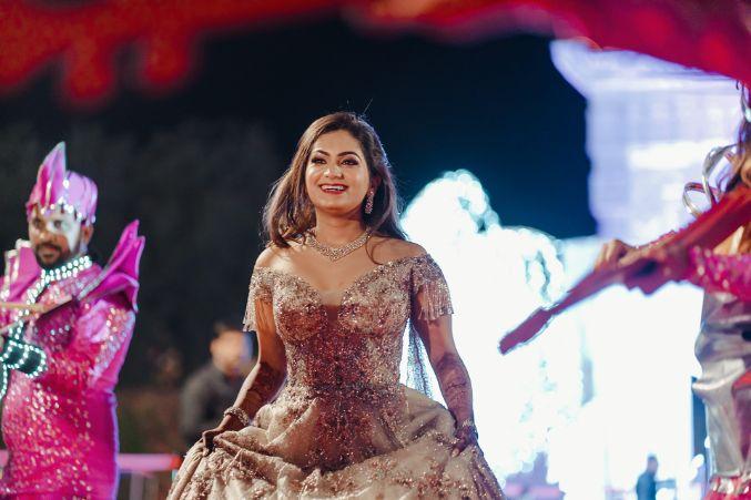 happy bride | indian bridal makeup