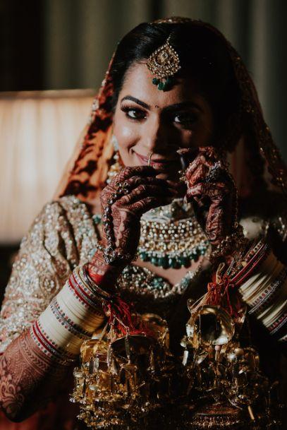 indian bridal shoot poses | Wedding at Ramoji Film City