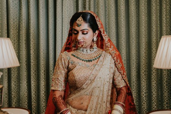 indian bridal details  Wedding at Ramoji Film City