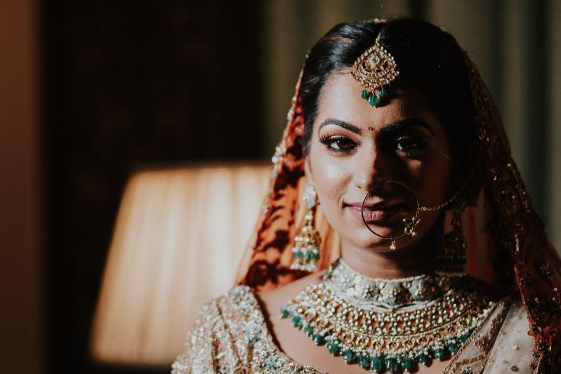 jewellery in trend for a bride  Wedding at Ramoji Film City