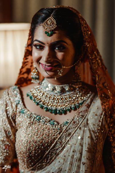indian bfidal jewellery designs |Wedding at Ramoji Film City