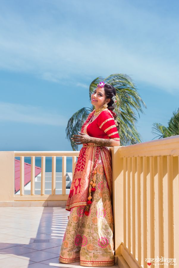 reception gown | wedding in Thailand Haldi outfit Wedding cake | wittyvows | indian weddongs indian bride | lehenga