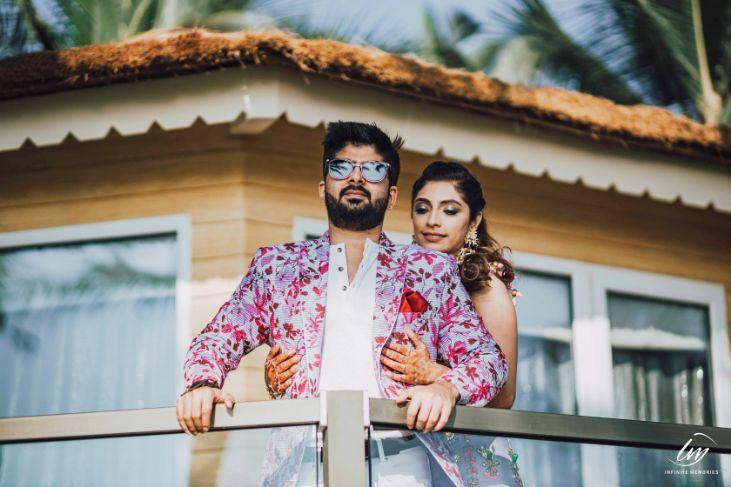 mehendi fucntion   papa dont preach outfits   indian wedding in goa   goa wedding