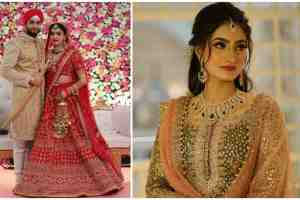indian wedding , real sabyasachi bride