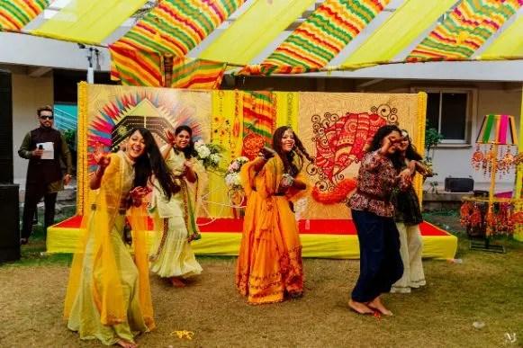 Rajasthani Wedding   real wedding   2020 mehendi decor ideas . decor ideas , trends , tug of war,