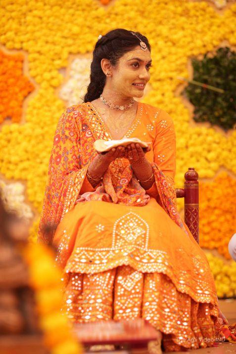 indian wedding , haldi function , weddings , Moroccan theme mehendi decor