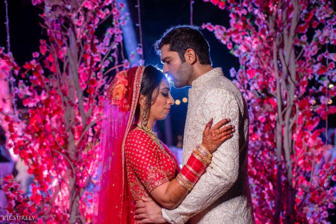 ndian wedding , india bride , wittyvows , weddings , goa wedding , destination wedding | wedding in Goa | beachside mandap | mehndi look