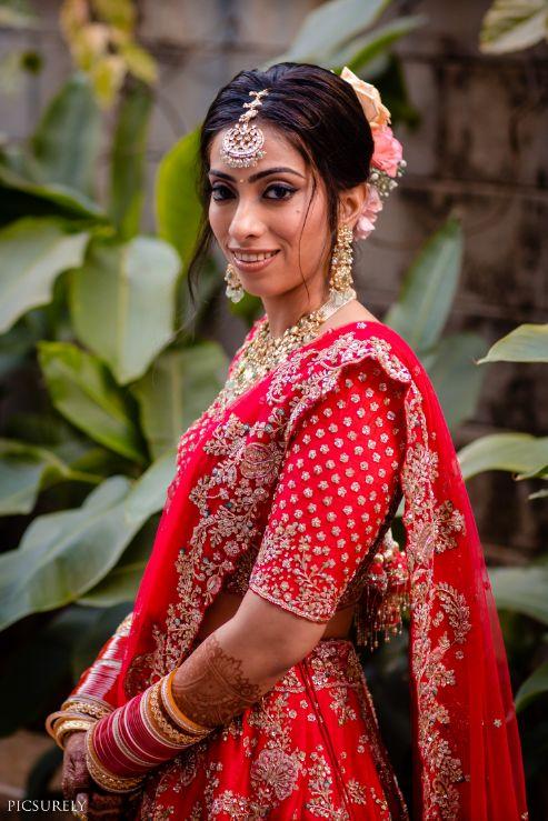 happy bride , indian bride , real wedding , 2020 indian wedding