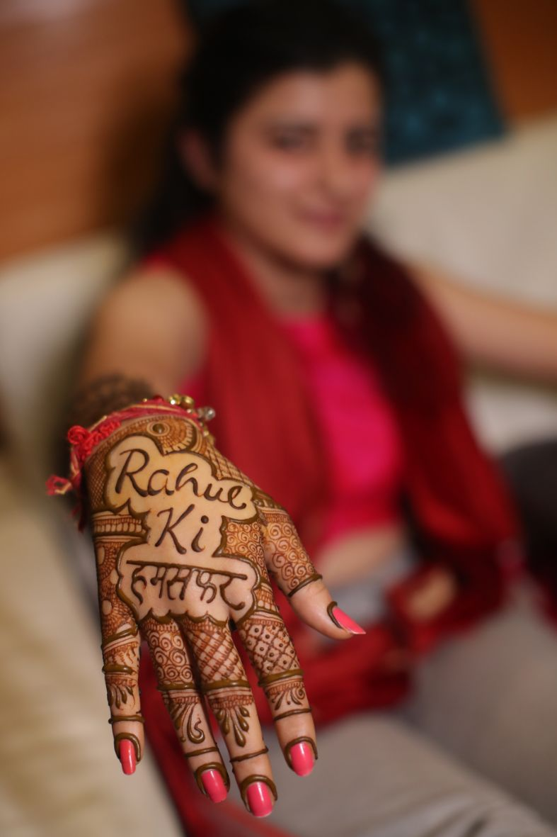 wittyvows , bridal henna , hill station wedding