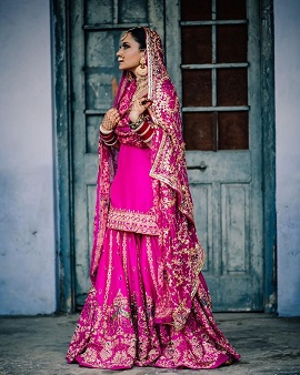 Pink sharara | Wedding outfits for your Indian wedding | 2020 brides