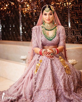 Monochromes | Indian bridal look | Wedding designer lehengas |
