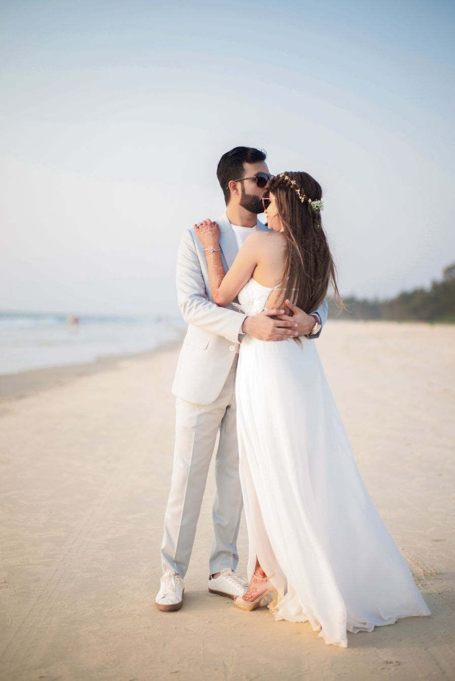 all white , destination weddings , wittyvows , wedding blog Beach wedding | wedding in Goa | cocktail outfit | beach party