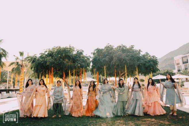 bridesmaids photoshoot ideas