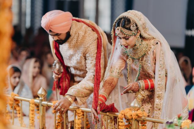 indian wedding | anand karaj ceremony |