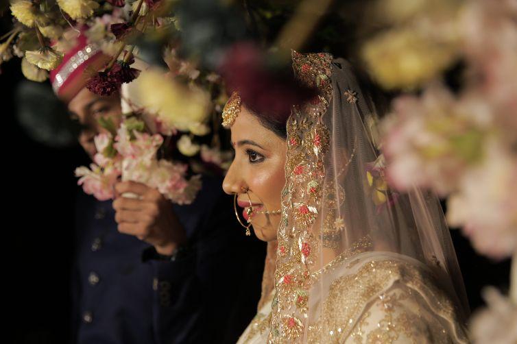 bridal entry ideas | Intimate Wedding in Jim Corbett