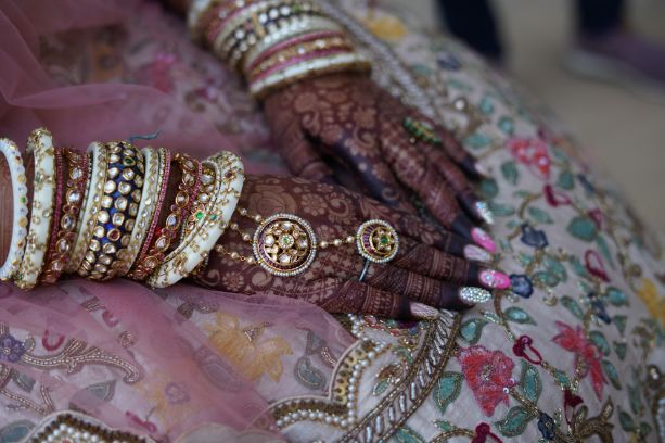 beautiful bridal bangles | Beach Wedding in Alibaugh
