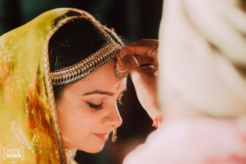 sindoor daan ceremony   Destination wedding in Fujairah