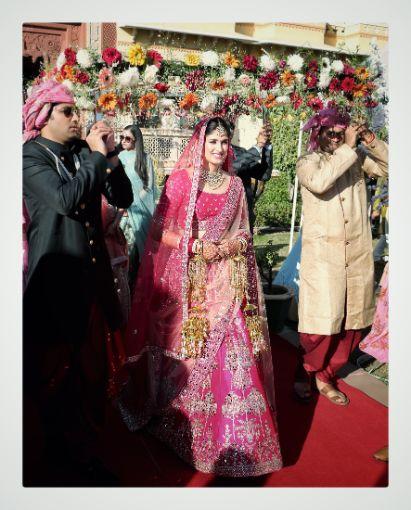 indian bridal entry | indian wedding diaries
