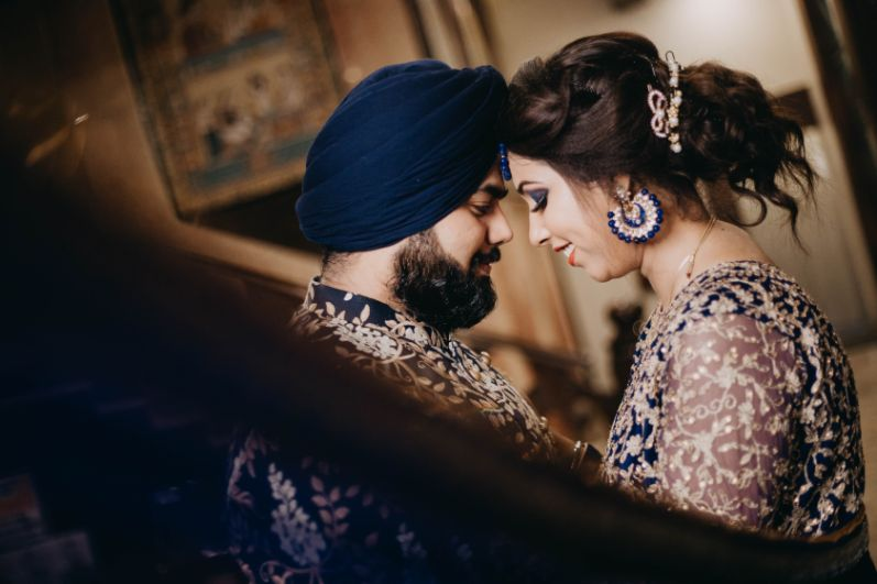 couple shoot ideas | indian wedding | Sparkling Red Gown for the Cocktail