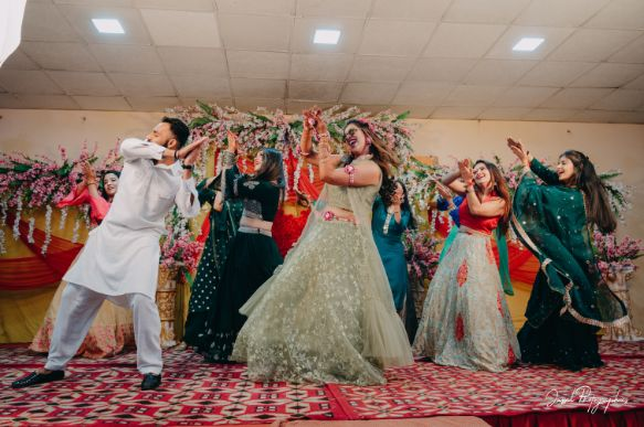 dance night | sangeet day | indian wedding ceremony