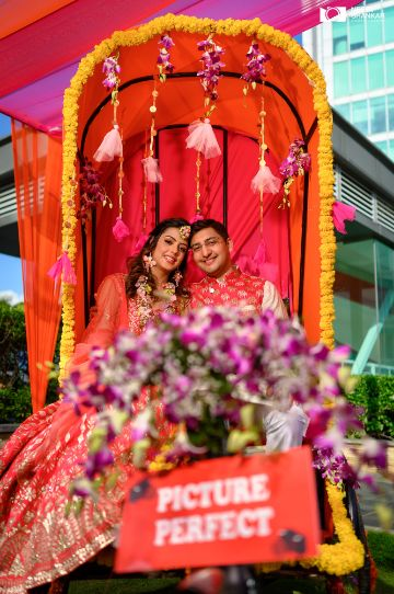 indian wedding photography | happy couple |