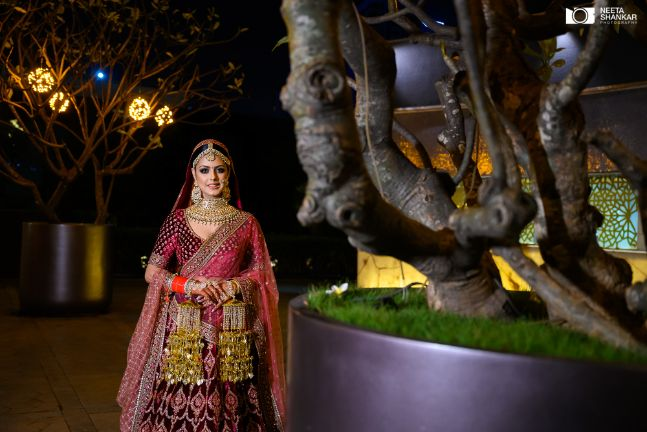 indian bridal lehenga designs in trend | Sabyasachi Lehenga in Maroon