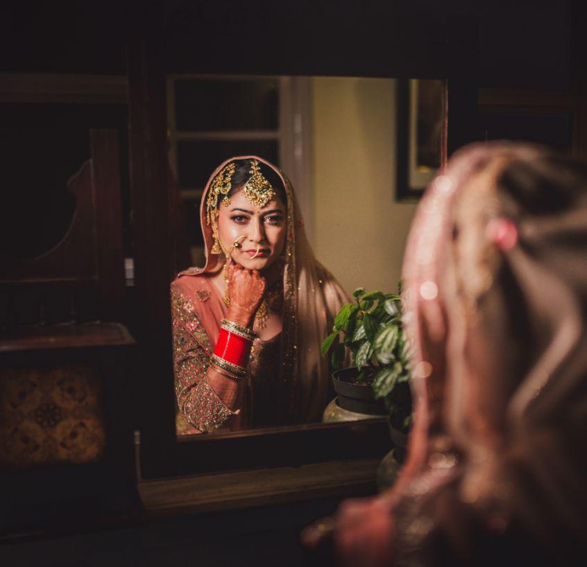 bridal shoot   bridal chooda  