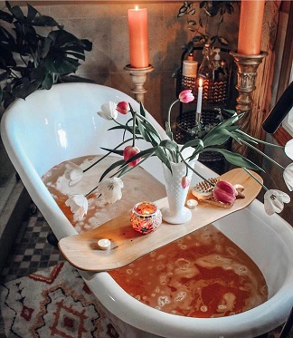 Bath Time | Spa at home | relax time