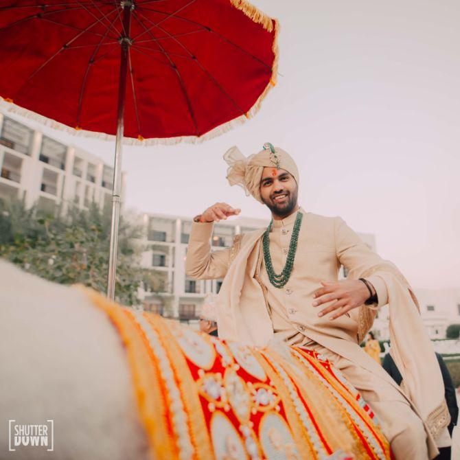groom entry ideas   Destination wedding in Fujairah