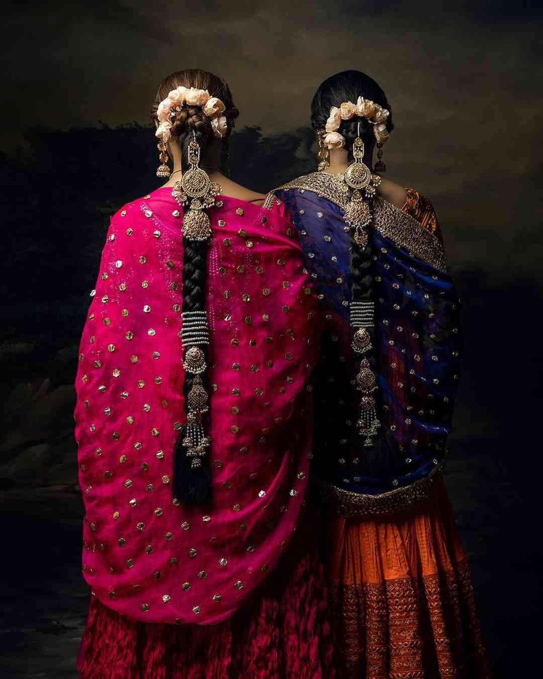 Bridal braids | Bridal choti | Hair jewelry | Bridal jewellery