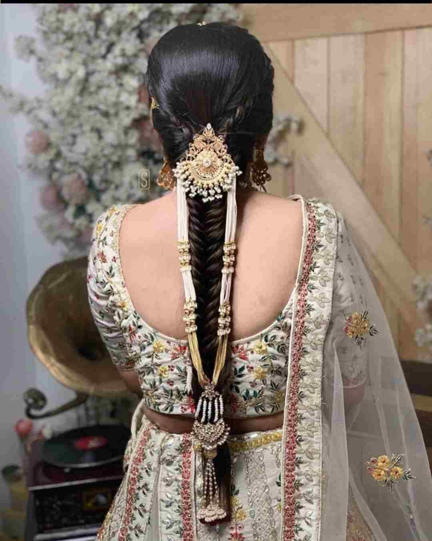 Bridal Choti | Bridal Jewellery | Bridal Choti jewelry | Bridal hair jewellery ideas