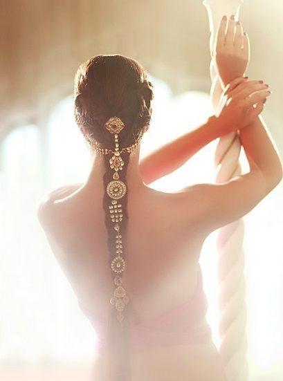 Bridal Hairstyle | Bridal Choti | Bridal Jewellery | Bridal Choti Jewellery