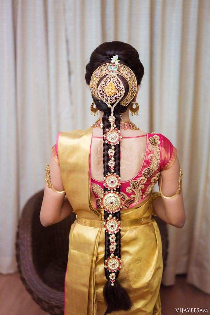 Bridal hairstyle | Bridal choti | Bridal jewelry | Bridal jewellery | Bridal trends | Hair jewelry