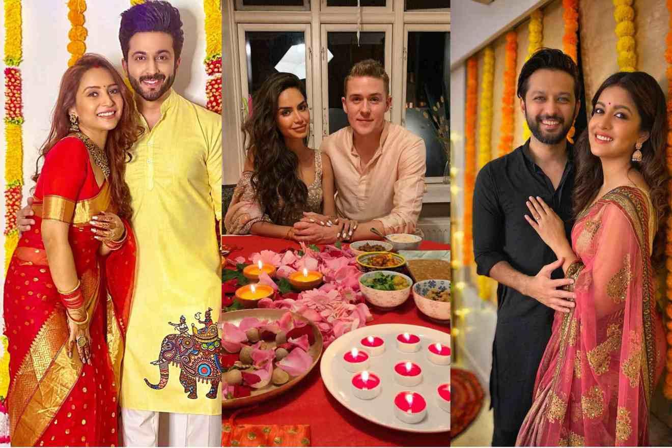 newly weds Diwali celebration ideas