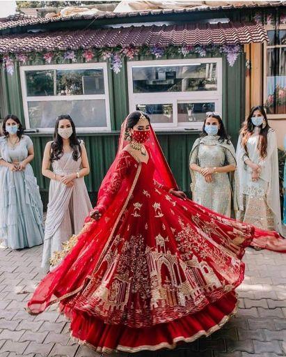 quarantine bride