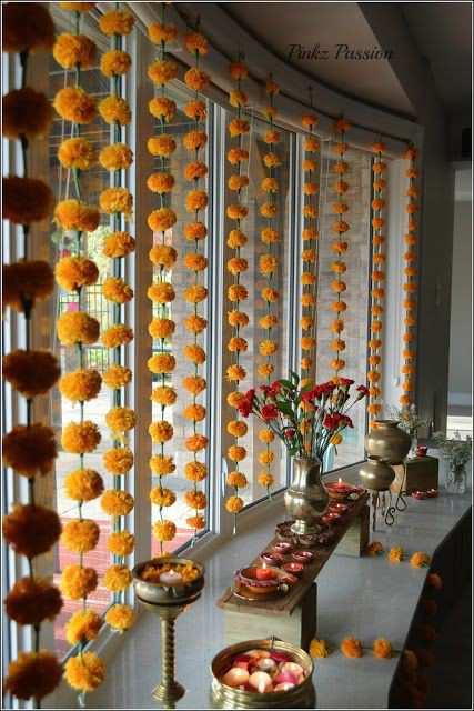 Diwali decoration | Floral decoration | Diwali DIY decoration ideas