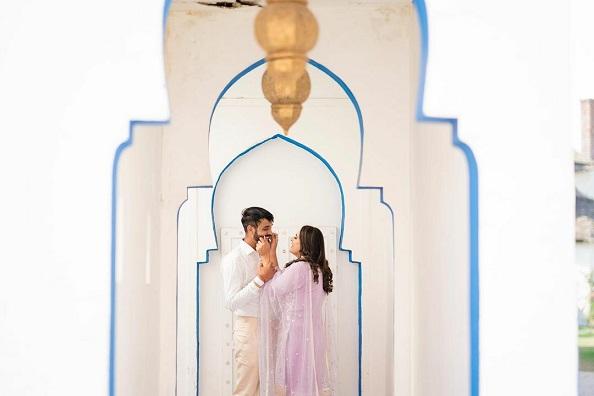 Romantic pre wedding shoot in covid | Indian wedding photgraphy
