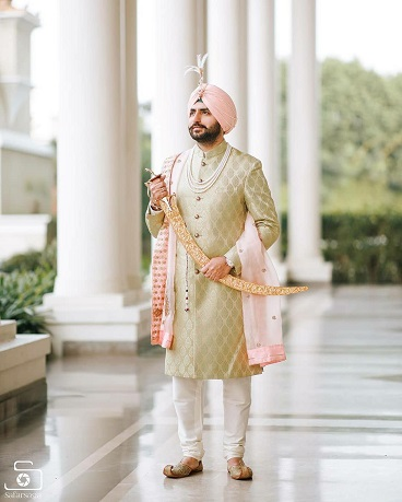 Self design for Sherwani | Groom outfit ideas