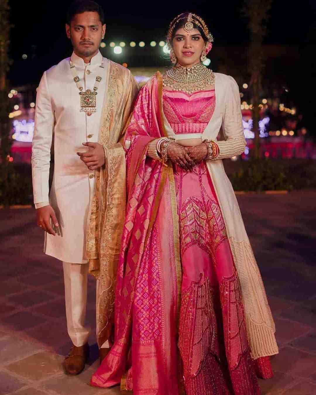 pink lehenga | bridal outfits