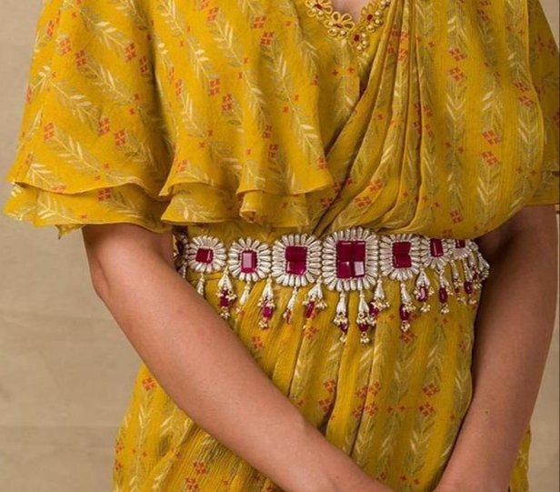 waist belt | belted saree | bridal belts