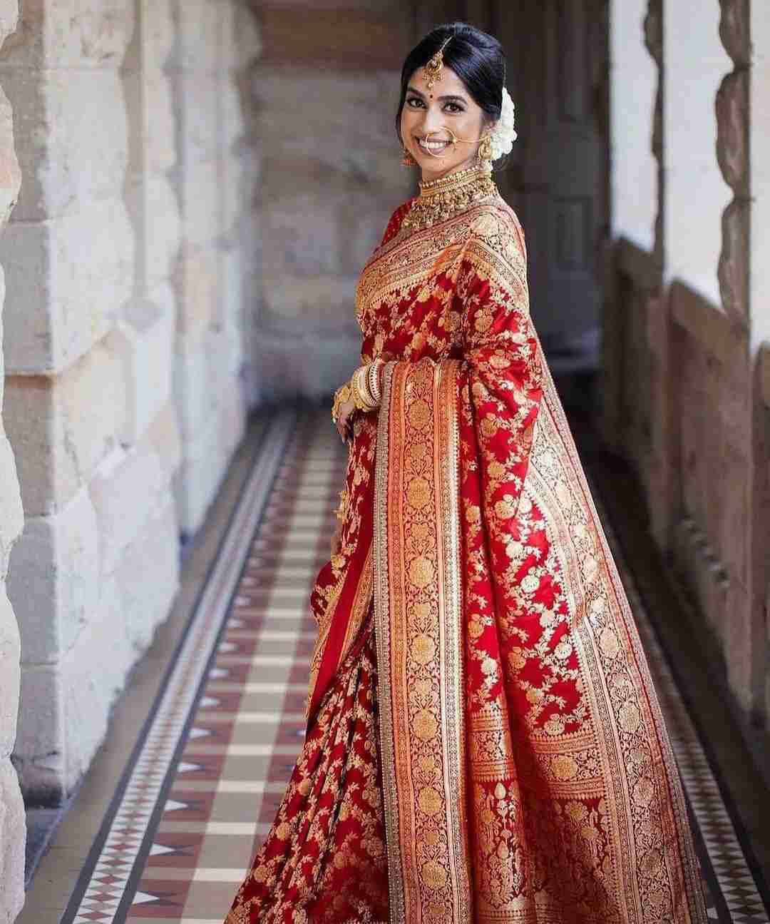 bridal saree | red saree