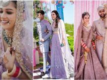 lavender lehenga | bridal lehenga | bridal trends