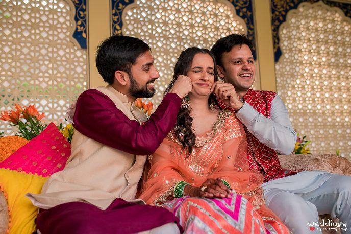 indian wedding , indian bride , mehendi , jaipur wedding | mehendi lehenga | wedding decor