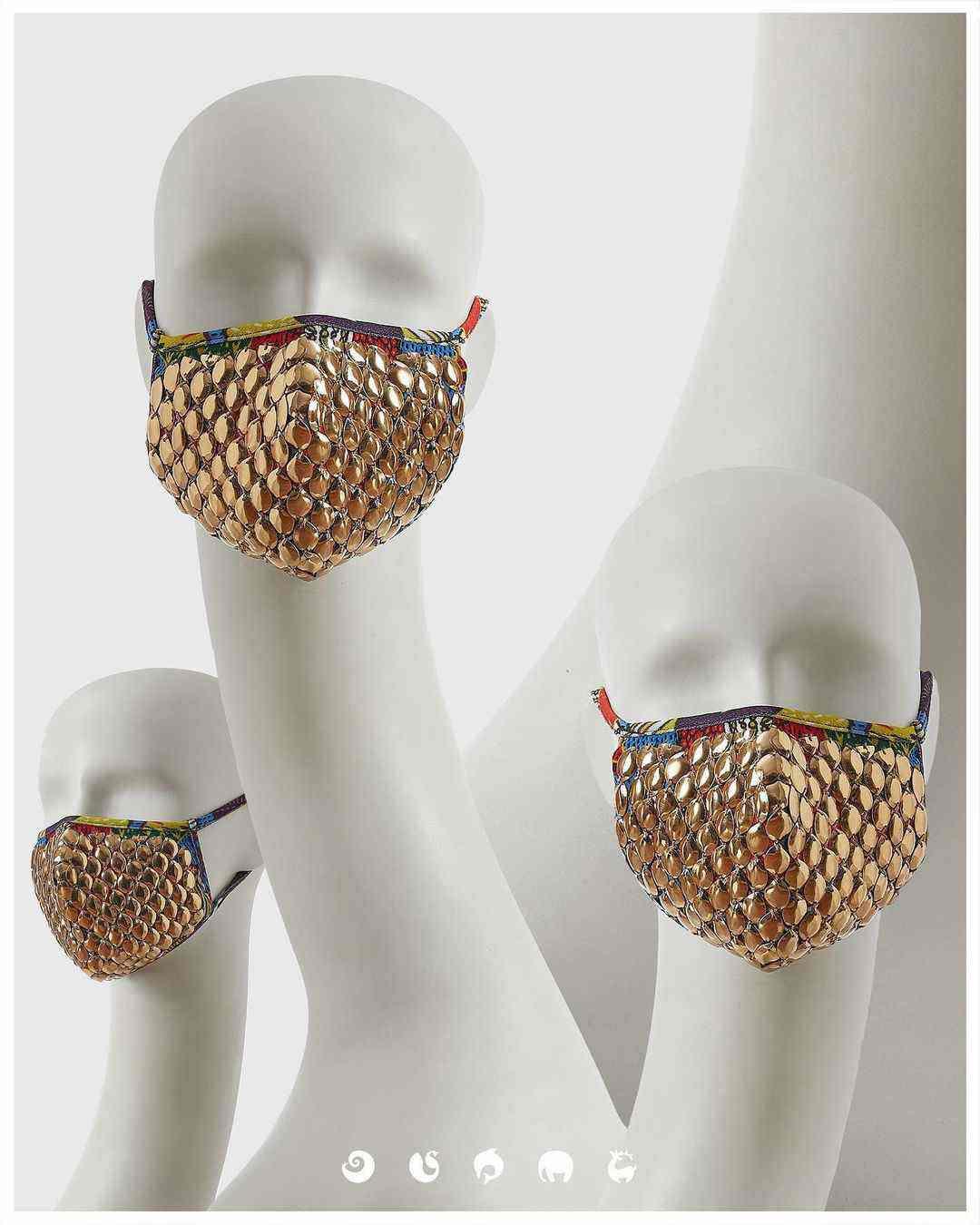 designer masks   wedding masks
