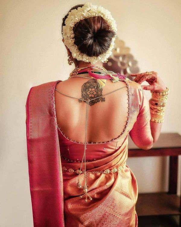 bridal look | blouse back | bridal blouse