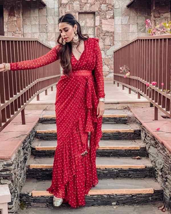 saree draping ideas | trendy sarees