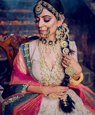 Bridal jewellery look inspiration