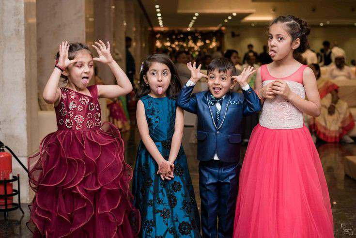 kids at weddings