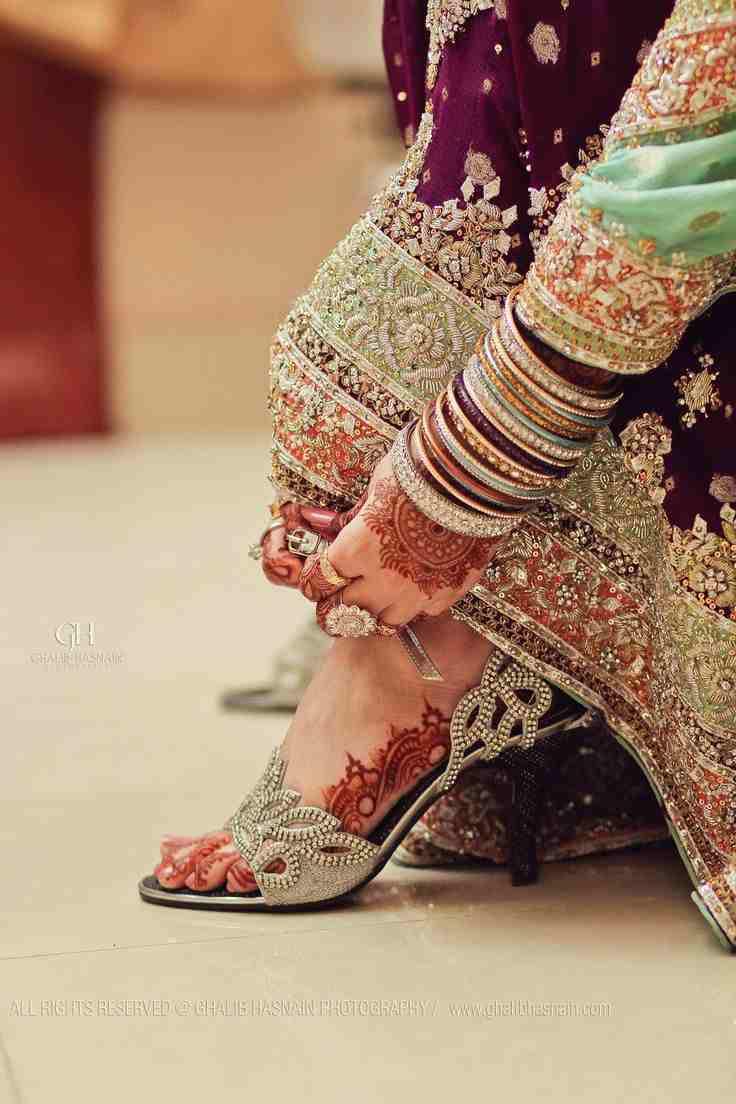bridal footwear | heels