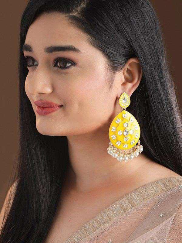 yellow jewellery | earrings